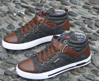 Wholesale Korean fashion denim MEN s Canvas Shoes Sneakers shoes