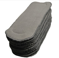 Wholesale Hot Sale layers Bamboo Charcoal inserts Baby Changing Pads
