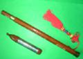 Wholesale Sandalwood Bawu Flute Ba Wu Pipe Woodwind Vertical Case How to Play Guide