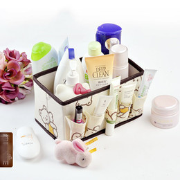 Wholesale New styles Home minimalist fashion multifunctional cosmetic storage box pouch mix order