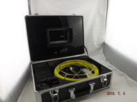 Wholesale Video pipe inspection camera CCTV Drain inspection system Sewer endoscope m fiberglass cable H115
