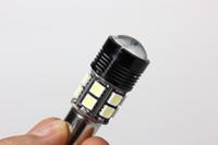 Wholesale 100pcs Reverse Backup turn light W Canbus BA15S SMD CREE R5 LED Light Bulb Reverse Backup Turn Light best price