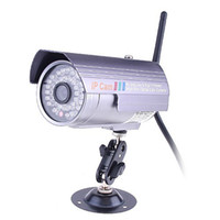 Wholesale Wireless Wired WiFi LED IR CUT M Nightvision Outdoor IP Camera freeshipping dropshipping