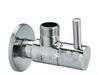 Wholesale 1 quot male ending new brass chrome angle valve faucet tap ba03
