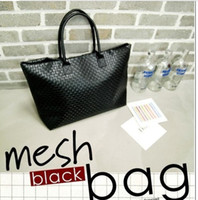 Wholesale 2013 HOT New popular Korea Fashion Style Women s Hand woven Korean Hyun black Lady single shoulder Handbag Bags