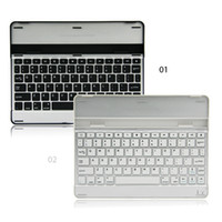 Wholesale High quality New Blue tooth wireless Aluminum keyboard for ipad mini inch with retail packing