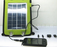 Wholesale Best price W Panel Solar Power Cell phone Charger USB Green Energy for camping sailing