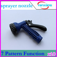 Wholesale DHL Nozzles For Expandable Garden Hose Pattern Function Shower Head Pattern RW WH