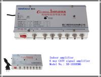 tv signal amplifier - SB M6 way catv signal amplifer Sat Cable TV Signal Amplifier Splitter Booster CATV DB