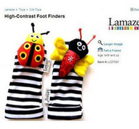 Multicolor bird toys - Lamaze Bees Ladybugs Rattle Foot Finder Garden Bug Toy Foot Sock Developmental Toys Foot Finders Baby Toys B0715