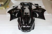 Wholesale Glossy Black Fairing for Kawasaki ZZR1100 ZX1100 ZZR1100 ABS
