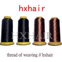 Wholesale Freeshipping Thread of Weaving High Intensity Polyamide Nylon Thread Hair Extension Tool