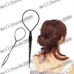 Wholesale 2013 NEW pack New Topsy Tail hair Braid Ponytail styling Tool make up tool set MYY3248