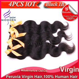 Wholesale Top Quality Peruvian Virgin Hair Body Wave Mixed Unprocessed Hair Weft Remy Human Hair Weave Natural Black Hairstyles quot quot