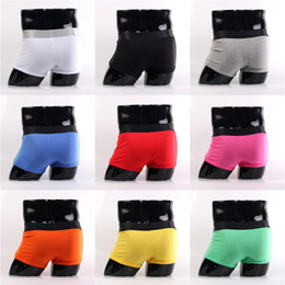 Wholesale 1000pcs Fashion Men Women S Steel and Boxers amp Briefs Black Trunk with Colors Bottoms International Brand