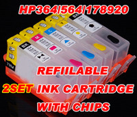 Yes empty ink cartridges - 2set HP564 empty refillable INK cartridge for HP Photosmart D5445 D5460