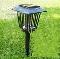 Wholesale Solar Mosquitoes Killer Lamp Lawn Bug Mosquito Pest Insect Killer Zapper Light Outdoor Garden