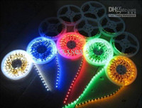 Cheap RGB LED Strip Light 14.4W SMD5050 60pcs M AC12-24V Spot Light IP65 Lamp Sports Hall