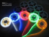 Cheap RGB LED Strip Lights 14.4W SMD5050 60pcs M AC12-24V Spot Light IP20 Lamp Sports Hall light bar