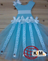 Wholesale Hot selling beautiful multicolor tutu bow holders for kids