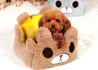 Wholesale Kennel shipping super soft short plush kennel pet nest dog bed pet supplies b Teddy Wowo Dog sports house