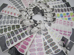 Wholesale Fashion Foil Ultra Thin Polish Skin Nail Art Wrap Patch Sticker sheets