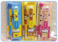 Wholesale 36Sets San X Rilakkuma Bear Stationery Set Mechanical Pencil mm Pencil Lead Erazer