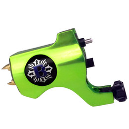 Wholesale 8 Colors Bishop Style Rotary Tattoo Machine Gun For Tattoo Needle Ink Cups Tips Grips Kits