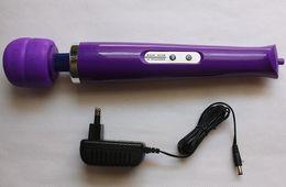 Cordless Rechargeable Magic Wand Massager,10 SpeedAV Vibrator With Hitachi Head, Full Body Massager,Magic Wands