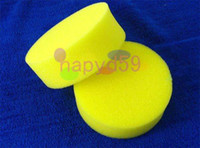 Wholesale 10pcs free ship car cleaning washing sponge auto waxing sponge car polishing pads wash wax tools car accessories