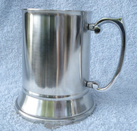 Wholesale Retail and wholesales OZ Double Wall Stainless Steel Tankard stainless steel beer mug