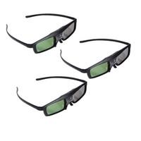 Wholesale 3PCS Hz D DLP Link Active Shutter Glasses For Acer BenQ Optoma ViewSonic DELL