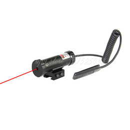 6PCS LOT Tactical Hunting Laser Scope Red Dot Sight Fit For 11mm 20mm Rail with Mount & 2 Switch for Gun Rifle