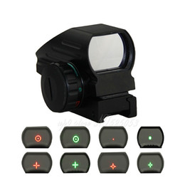 Tactical Hunting Holographic 4 Type Reticle Reflex Red Green Dot Sight 20mm 11mm Rail