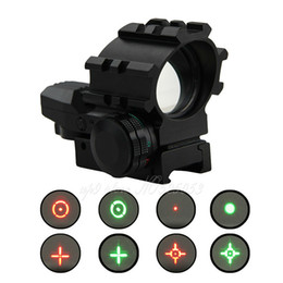 Tactical Hunting Holographic Multi 4 Reticles Pattern Illumination Red Green Dot Reflex Sight Scope