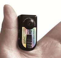 al por mayor dvr q5-Mini cámara oculta con Q5 1280 * 720P 30FPS AVI HD Ultra Compacto pulgar DV Mini DV, videocámara del coche DVR de la cámara 1200 MEGA espía para la seguridad