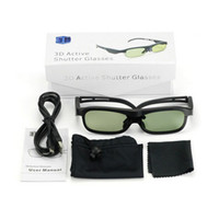 Wholesale 3D Active Shutter Glasses For EPSON LCD Projector EH TW5800C C C