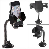 Cheap Universal Rotatable Suction Cup Swivel Mount Car Windshield Holder Cradle for Cell phone No retail packaging