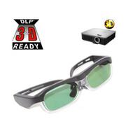 Wholesale 144Hz Brand Universal Active Shutter D Glasses for D DLP LINK Ready Projector