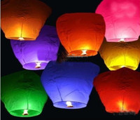 Sky Lantern Holiday  Sky Lanterns,Wishing Lantern fire balloon Chinese Kongming lantern Wishing Lamp 20PCS