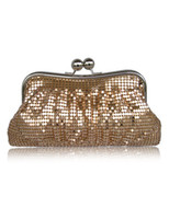 Wholesale Chic Glitter Silk Woman s Evening Bag u5 r0