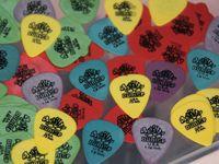 al por mayor selecciones de la guitarra mezcla-72 pedazos de la guitarra de Dunlop Tortex 1.0 milímetros .73m m amarillo amarillo de 50m m rojo 1.14m m.