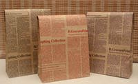 as shown newspaper bags - Newspaper Christmas Festival gift package bag gift paper bag