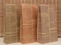 Folding newspaper bags - Newspaper Christmas Festival gift package bag gift paper bag X18X7 cm Festival gift package