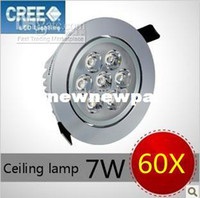 Wholesale 60X Dimmable LED Ceiling Lamp W lm V LED Down Lighting