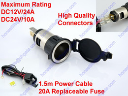Wholesale Motorcycle ATV Car RV Truck Cigarette Lighter Socket Power Outlet Replacement