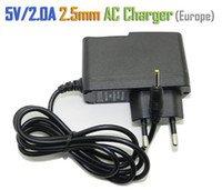 Wholesale 5V A DC mm Europe Plug USA Plug Converter Charger Power Supply Adapter for Sanei Flytouch3 Q88 ALL Tablet PC Universal
