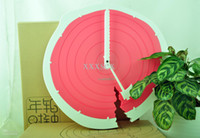 Cheap HIPS+ABS+PP Plastic Annual Ring Clock 1.5v 130UA E pit environmental brown paper 32pcs lot