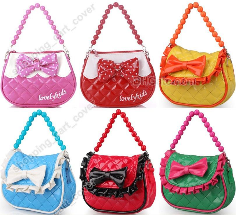 Fashion Little Girl Baby Kid Child Toddler Handbag Tote Shoulder ...