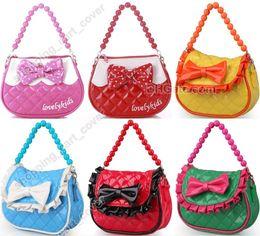 Fashion Little Girl Baby Kid Child Toddler Handbag Tote Shoulder Messenger Sling School Bag Satchel Purse Wallet Pack Party Favor Gift Toy